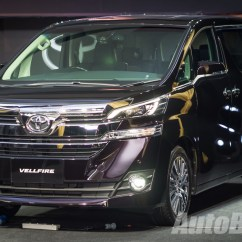 All New Alphard 2.5 X Gambar Grand Veloz 2016 Toyota Vellfire 2 5l Launched In Malaysia Priced At