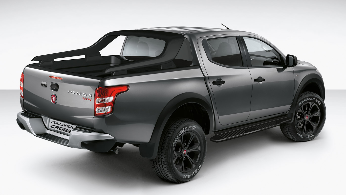 hight resolution of fiat fullback cross a completely rebadged mitsubishi triton thai made