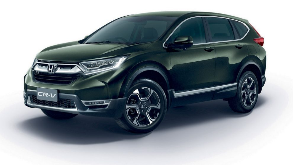 2017 Honda CR V Launched In Thailand Prices Start At A