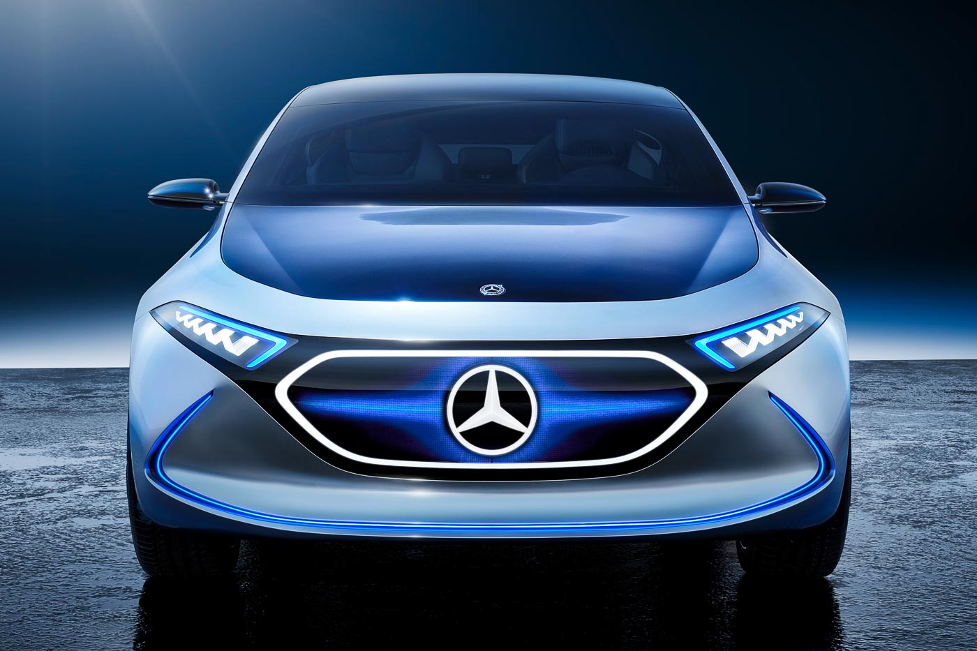 Mercedes-Benz EQA Concept - AWD electric hatchback. 0 - 100 km/h in 5s! - AutoBuzz.my