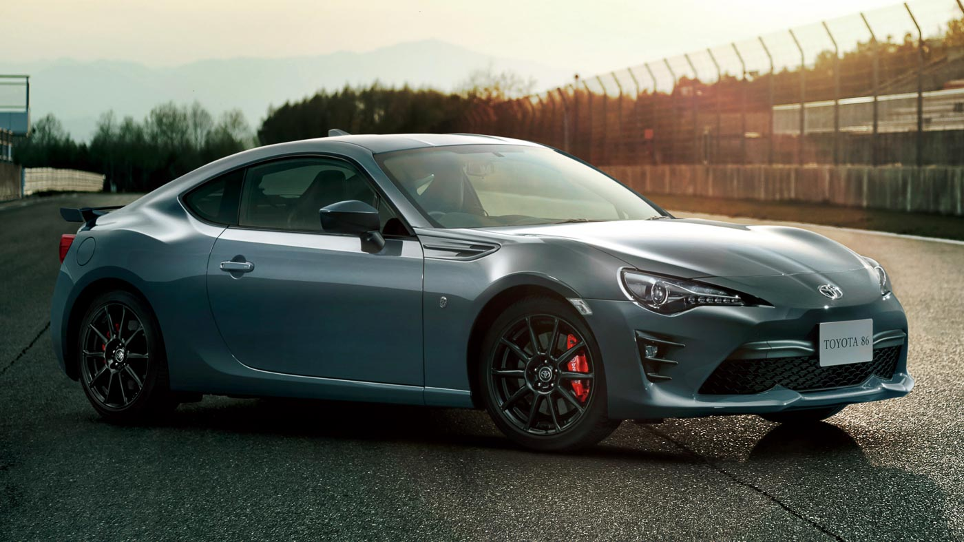 Toyota GT 86 GT Limited Black Package For Japan Refined