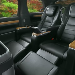 All New Alphard Interior Sewa Mobil Grand Avanza Jogja Modellista Has Made A 4 Seater Toyota Vellfire Because They Full Length Exclusive Vip Seat The Individual Captain Seats Have Been Moved Rearwards And Bolted Into Floor Meaning It Loses Sliding
