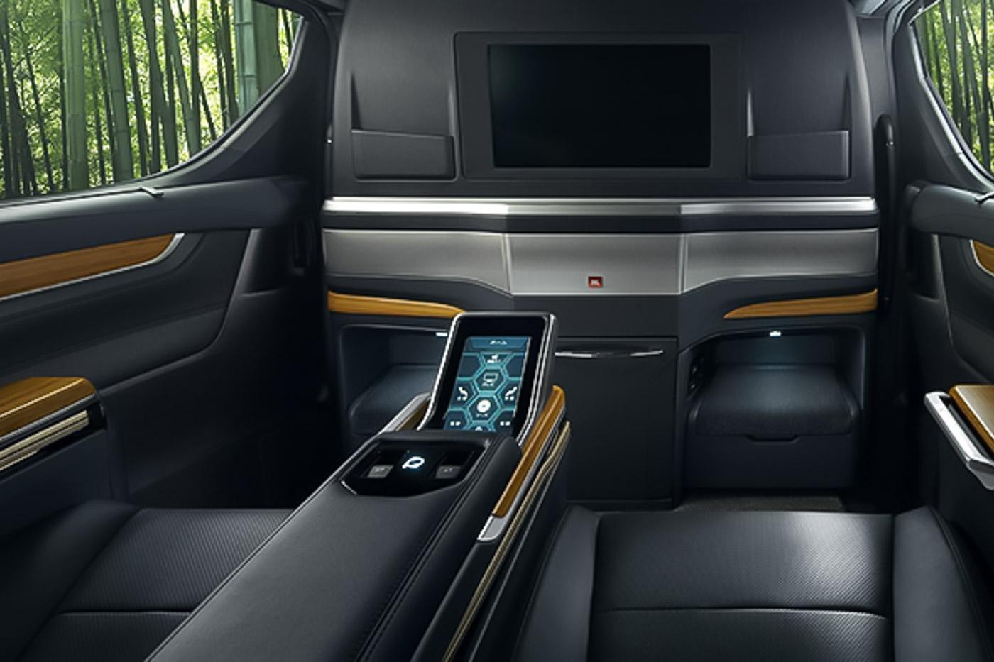 interior all new alphard 2018 grand avanza veloz 1.5 modellista has made a 4 seater toyota vellfire