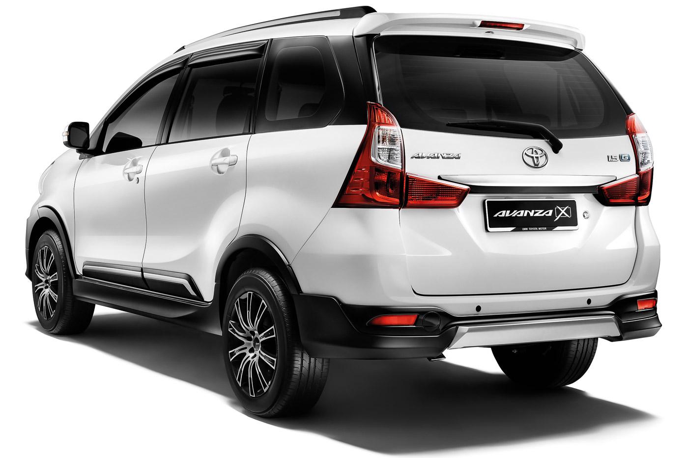 Toyota Avanza 15X introduced in Malaysia rugged looks