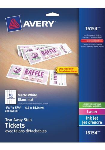 avery raffle tickets