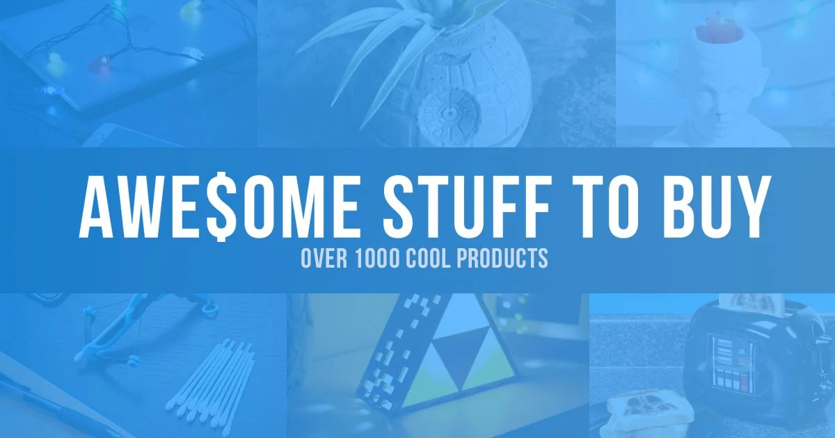 Awesome Stuff to Buy  Find Cool Things to Buy 1001 Gift
