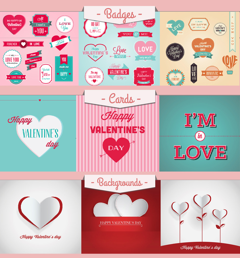 170 Valentines Day Vectorial Resources From Freepik