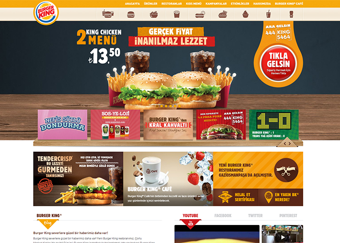 Burger King Corporate Website A Ards Nominee