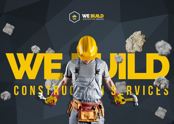 We Build  Construction Building Premium WordPress Theme