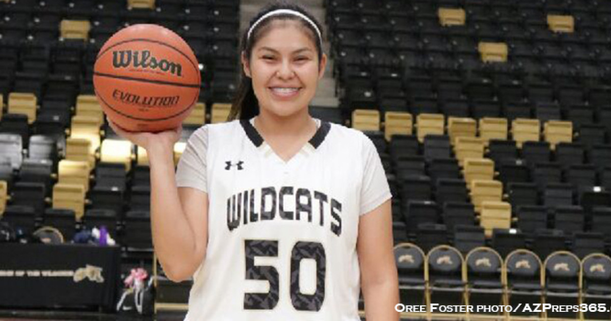 Chinles Stacey Begay Is Lady Cats To Go Player