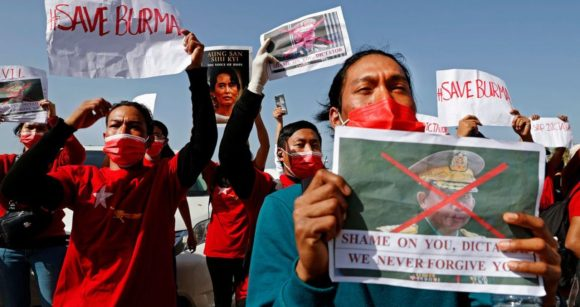 Facebook é bloqueado em Mianmar