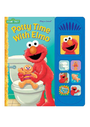 Elmo Toilet Gif : toilet, Pull-ups, Diapers, Sizes,, Introducing, Potty, Training, Handouts,