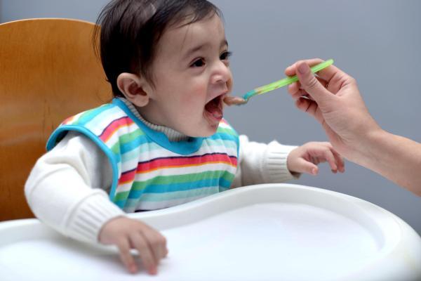 Lee más sobre alimentar a tu bebé con sólidos