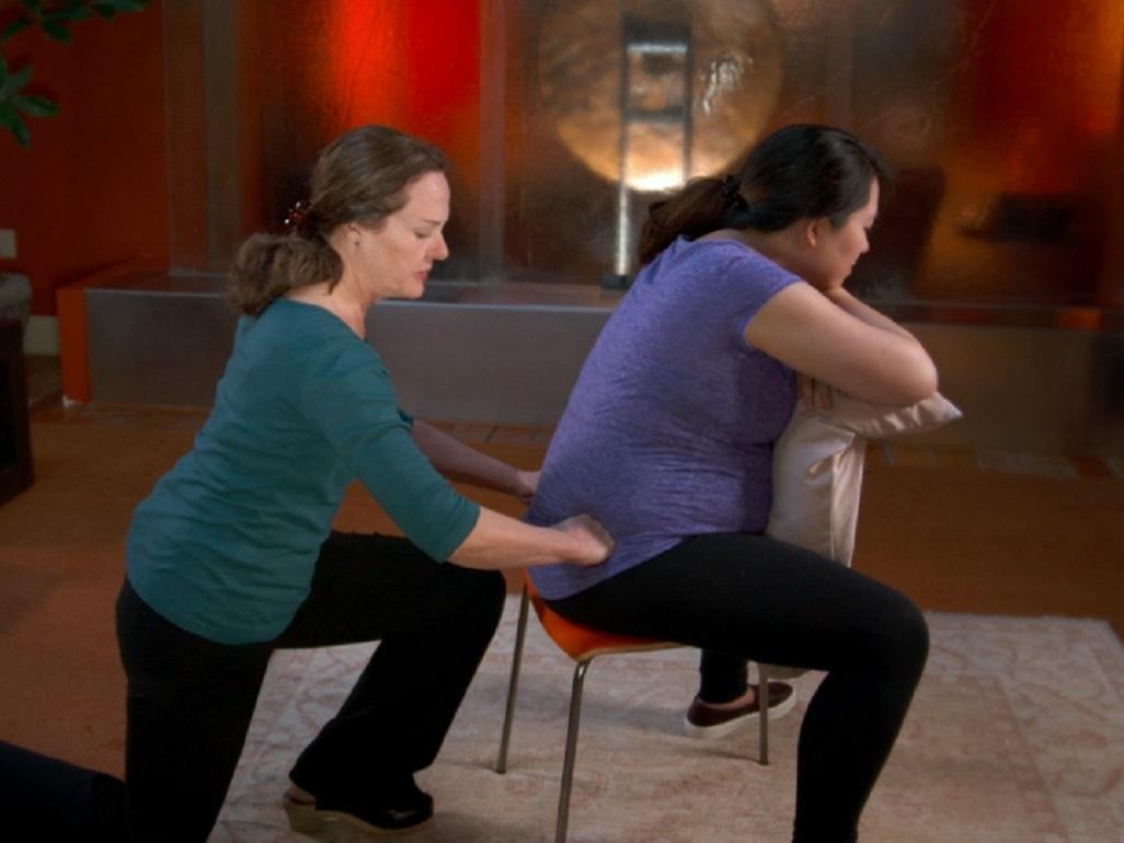Pregnancy massage for back pain  Video  BabyCenter