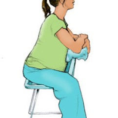 Chair Stand Up Trick Covers And Bows Talbot Green How To Sit In Pregnancy Photos Babycentre Uk Cartoon Image Of Pregnant Woman Sitting Back Front On