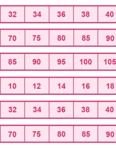 Belle lingerie international bra size guide also rh