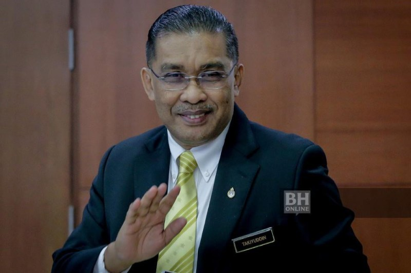 Setiausaha Agung PAS, Datuk Takiyuddin Hassan. - Foto NSTP