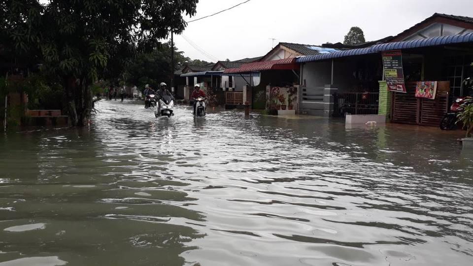 541 mangsa banjir di Kulim dipindahkan  Kes  Berita Harian