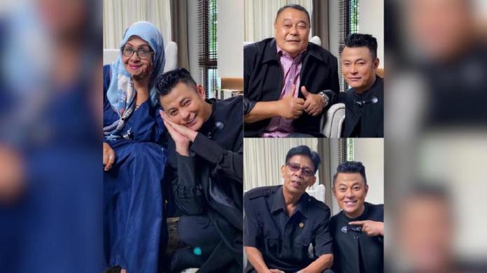 Tidak ketinggalan, Fauziah Nawi, Datuk Malek Noor dan AR Badul berkongsi pengalaman dalam program Yang Dulu yang bakal bersiaran awal tahun depan. - Foto Datuk Aznil Nawawi