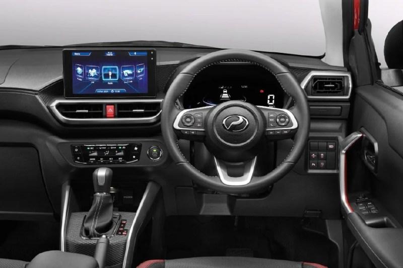 Ruang dalaman Perodua Ativa