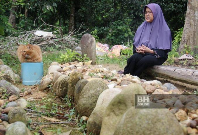 Nana yang dipelihara sejak enam tahun lalu dan menjadi haiwan kesayangan arwah Ab Aziz. - NSTP/Nik Abdullah Nik Omar