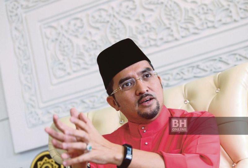 Ketua Pemuda UMNO, Datuk Dr Asyraf Wajdi Dusuki.