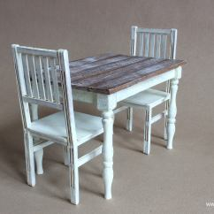 Chair 1 2 Swing Gsc-majka-3s-ge Mini 6 Scale Table And Chairs Dining Farmhouse Furniture Image Of For Dolls