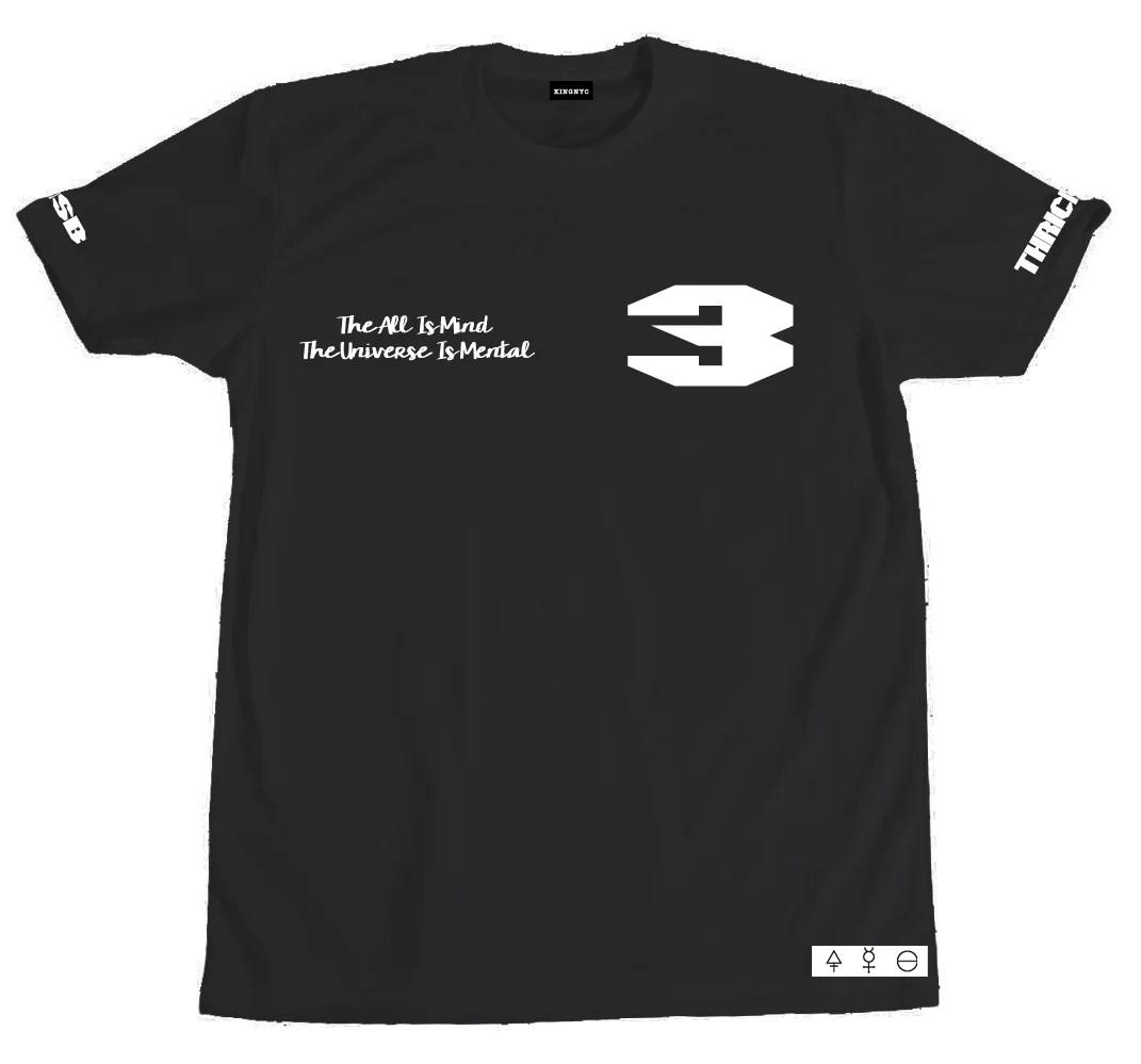 Kingnyc Trismegistus Thrice Great T-shirt