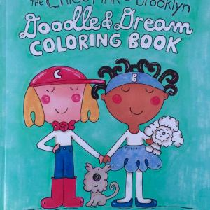 Image of The Chloe Pink and Brooklyn Doodle & Dream Coloring Book