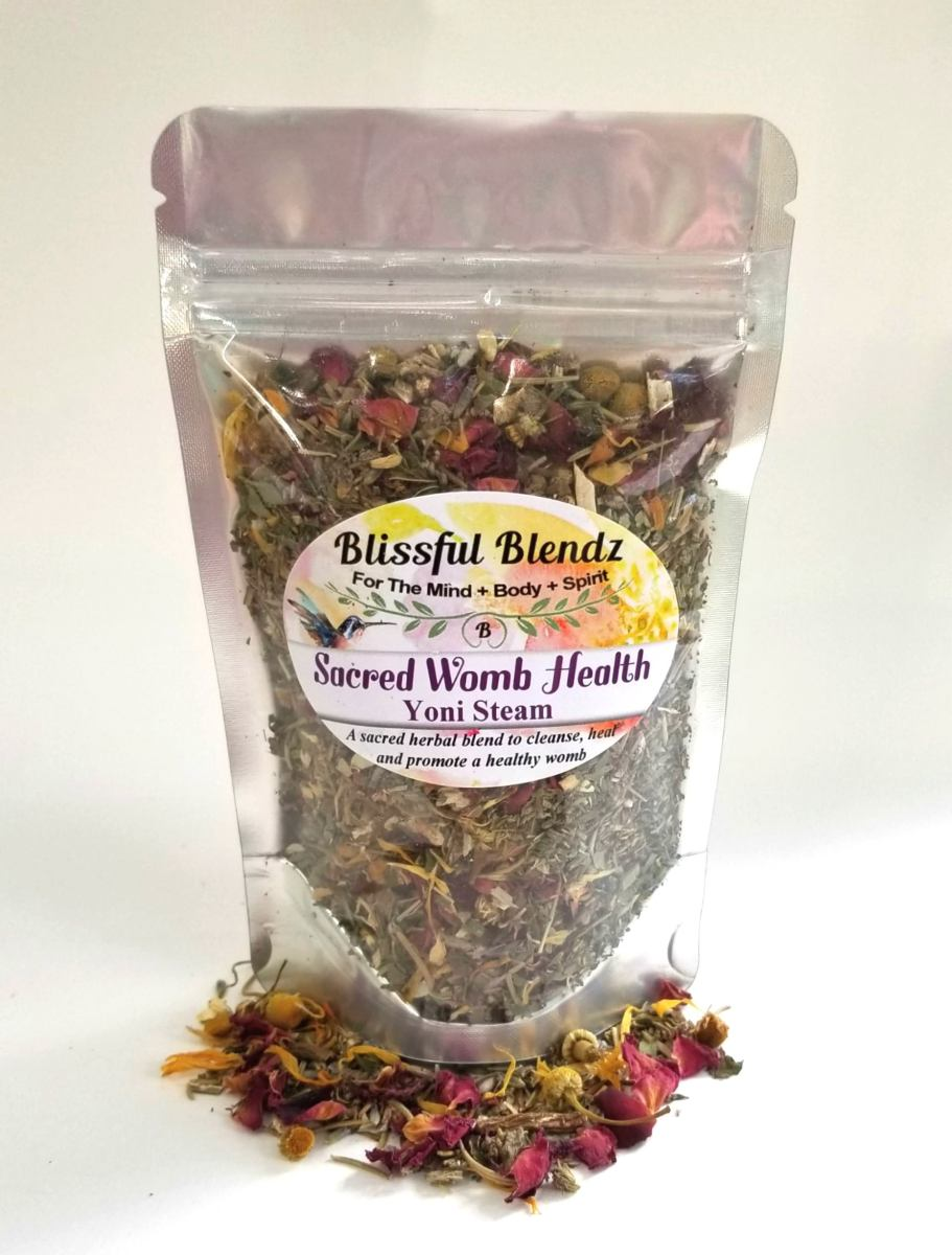 Sacred Womb Health Yoni Steam in 2 sizes  Blissful Blendz