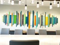 Corporate Artwork | Office Wall Decor | Wood Wall Art ...