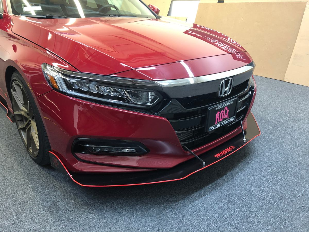 DownForceSolutions  20182019 Honda Accord Front Splitter