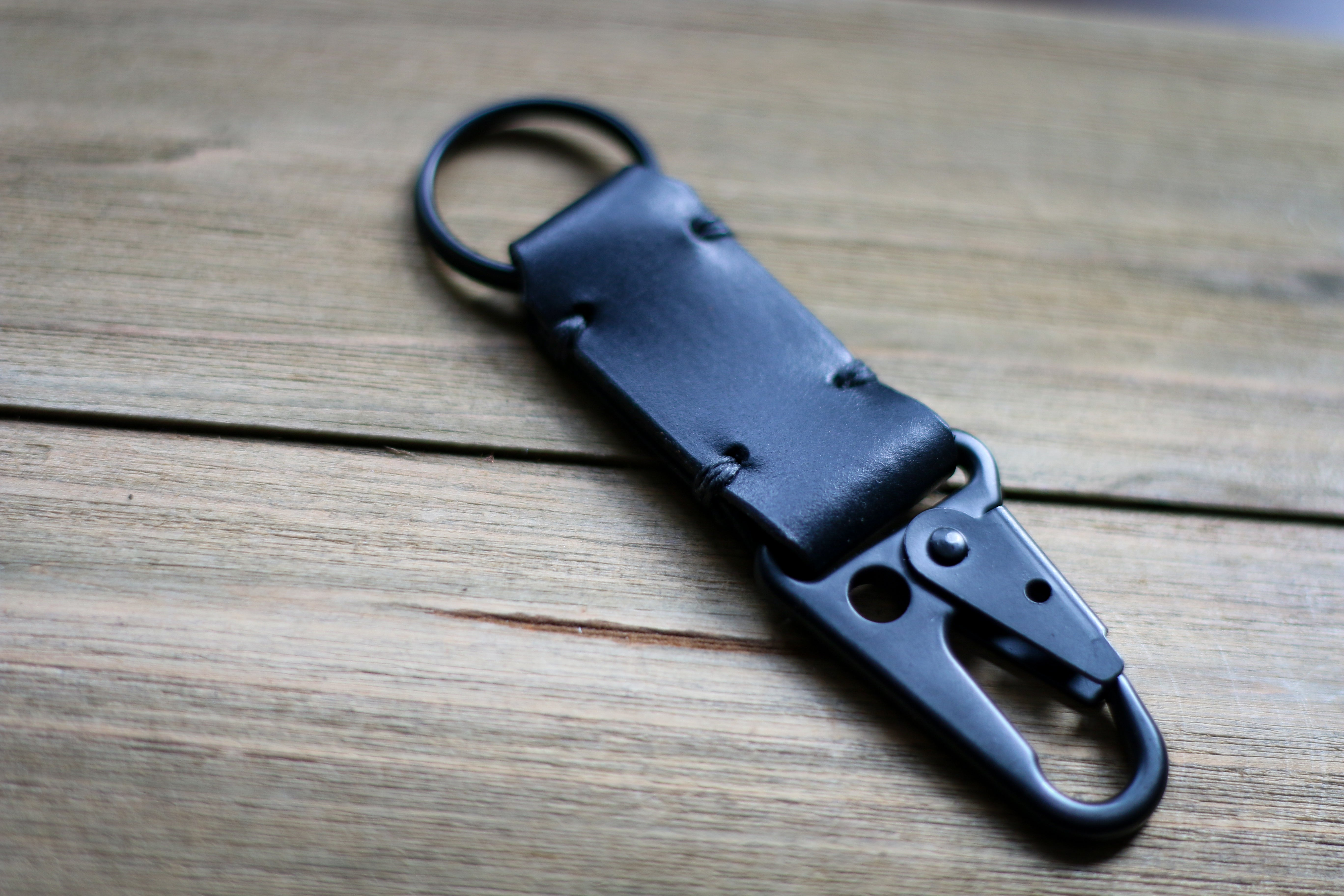 Hides And Stitches Hk Snap Hook Keychain