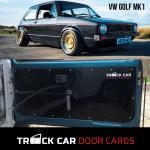 Vw Golf Mk1 Track Car Door Cards Custom Made Door Cards Panels Track Car Door Cards