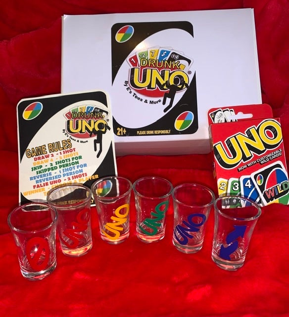 Drunk Uno Game Set | E's Tees and More