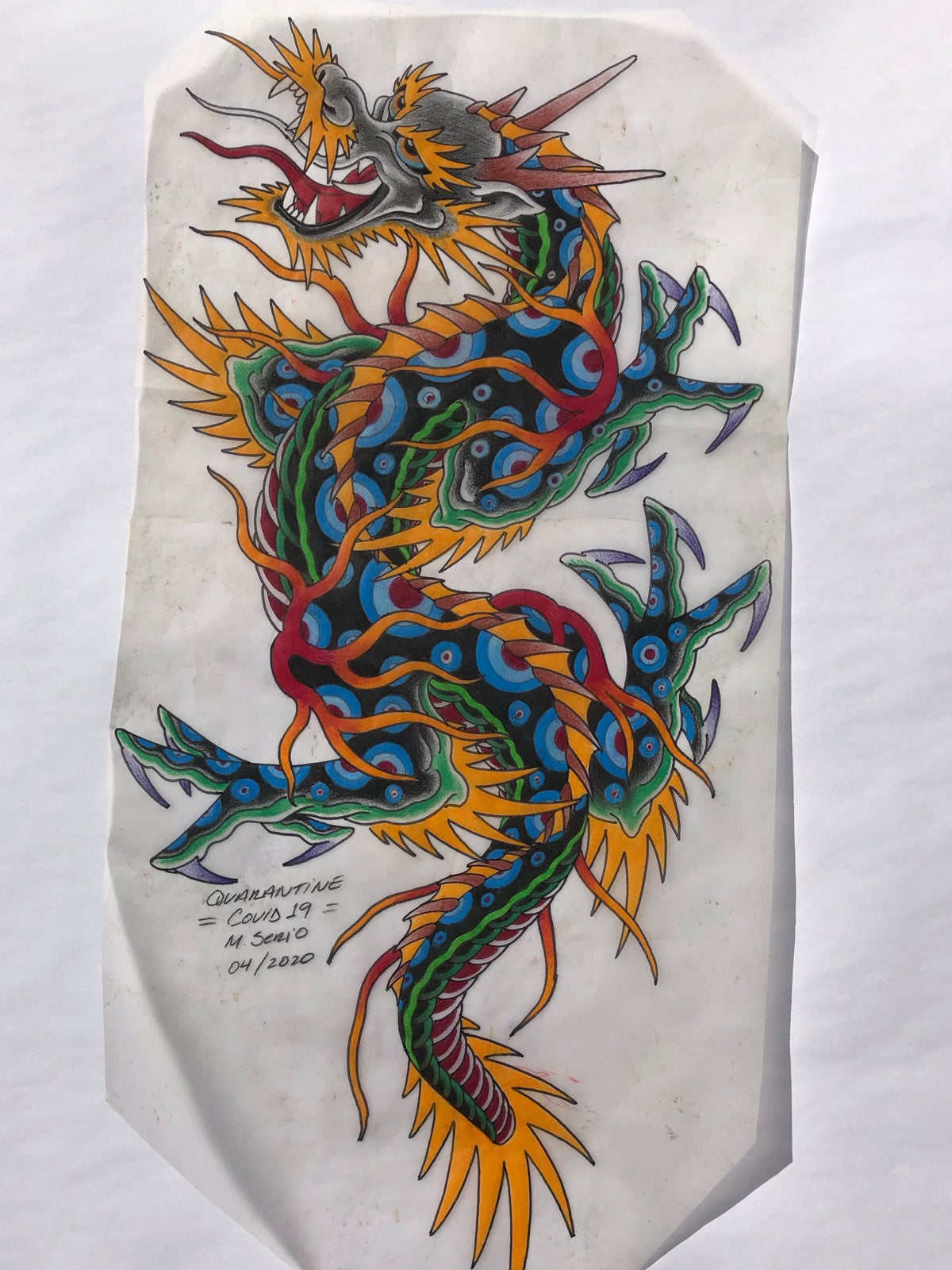 Traditional Dragon : traditional, dragon, TRADITIONAL, DRAGON, Blood, Studios