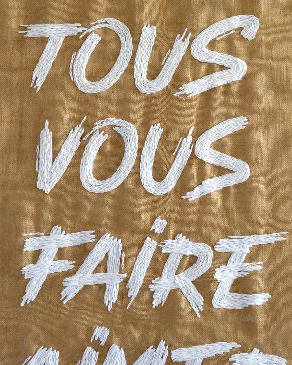 Allez Tous Vous Faire Aimer : allez, faire, aimer, ALLEZ, FAIRE, AIMER, Print, CLÉA