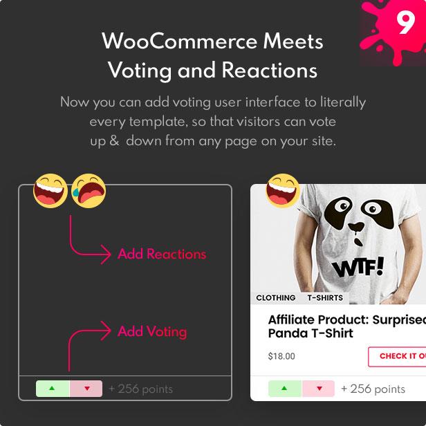 WooCommerce Voting