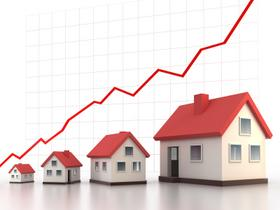 Home prices up