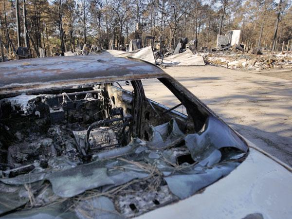 The wildfires that destroyed most of Bastrop County could drop property values by as much as 60 percent, one firm estimates. Land is already starting to trade hands and more transactions are expected as the smoke clears.
