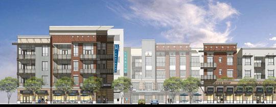 <br /><br /><br /> Millennium High Street —The Dinerstein Cos. and Coventry Real Estate Advisors are developing this 340-unit complex, which will be accompanied by 10,000 square feet of restaurant space and 15,000 square feet for retail shops. Units at Millennium High Street at 4410 Westheimer Road will range in size from 767 to 1,347 square feet. It is scheduled for completion in the summer of 2013.<br /><br /><br />