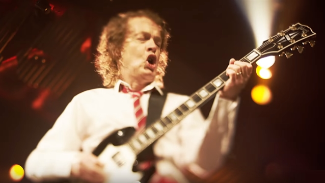 ANGUS YOUNG 'Pop!' Vinyl Figures From FUNKO Coming In January