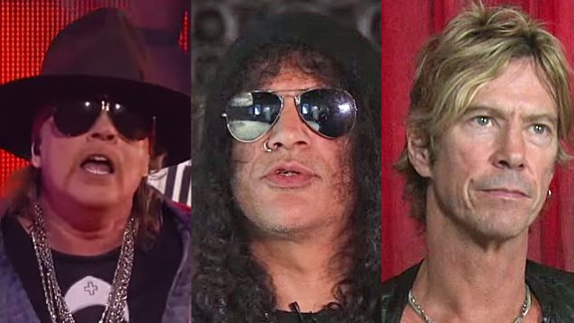 Reunited GUNS N' ROSES Reveals Cities For North American Tour