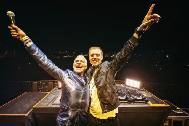 VAN HALEN's DAVID LEE ROTH And ARMIN VAN BUUREN Team Up On 'Jump' Remix: Single Out Now