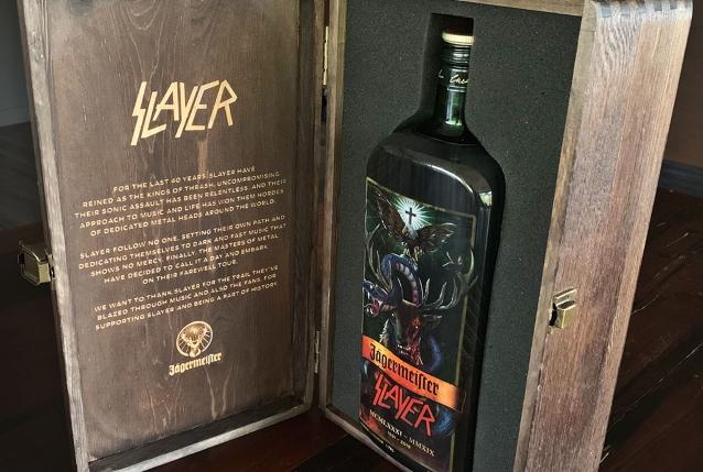 SLAYER Gets Limited-Edition Bottle From JÄGERMEISTER