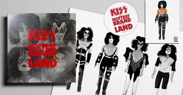 KISS: 'The Hottest Brand In The Land' Merchandise Book Due This Summer