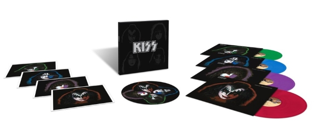 KISS Solo Albums Come Together To Celebrate Their 40th Anniversary In A Limited-Edition Vinyl Box Set
