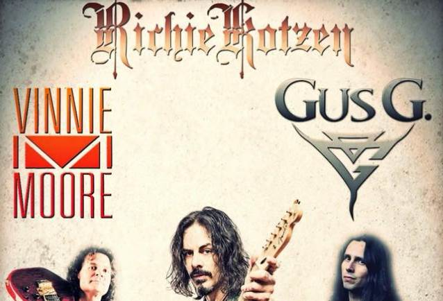 RICHIE KOTZEN, VINNIE MOORE And GUS G. To Team Up For U.S. Shows In The Fall