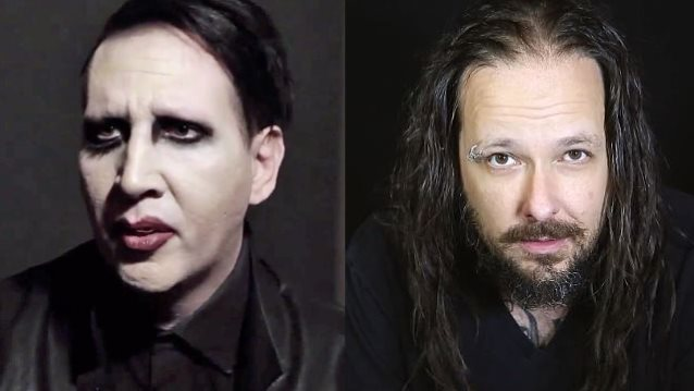 MARILYN MANSON And KORN's JONATHAN DAVIS Working On Acoustic Project