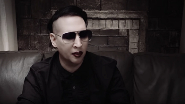 MARILYN MANSON Putting Finishing Touches On New Album